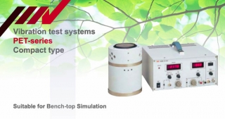 compact vibration test system, PET-series