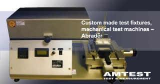 Mechanical testers, abrader