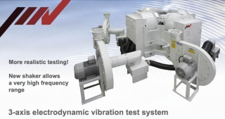 3-axis electrodynamic vibration test system, IMV