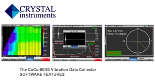 CoCo software, Crystal instruments, vibration data analyser
