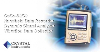 Crystal Instruments vibration data analyser