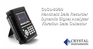 CoCo-80/90, handheld data recorder, dynamic signal analyzer, vibration data collector