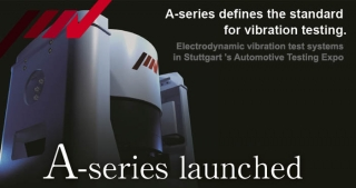 A series vibration test systems launched, IMV