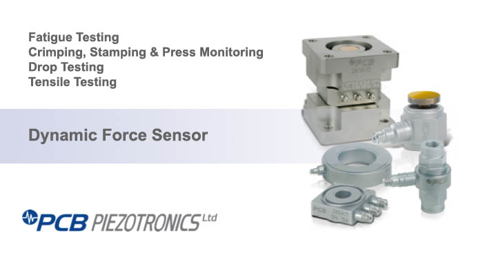 Dynamic force sensor, PCB piezotronics