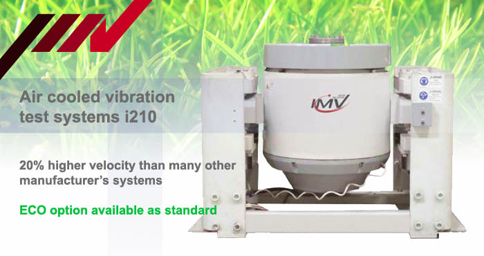 Air cooled vibration test systems i210