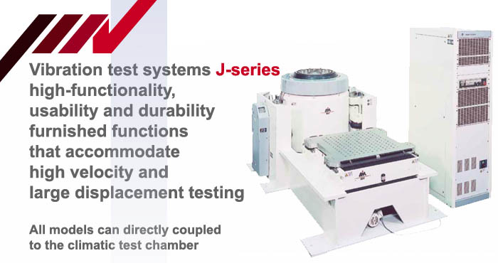 J-series, single-axis vibration system