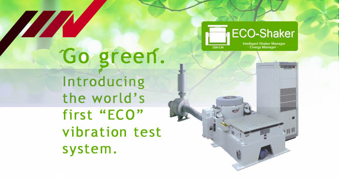 Go-green, IMV energy saving vibration test system