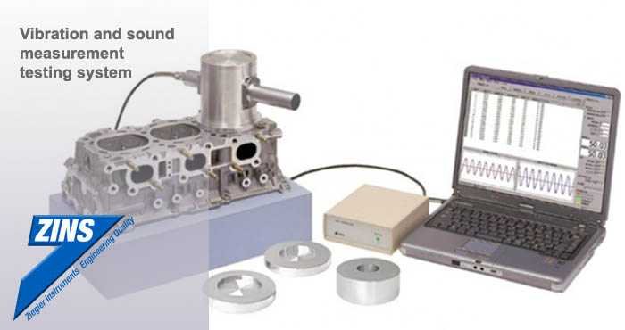 Vibration and sound measurement testing system, Ziegler
