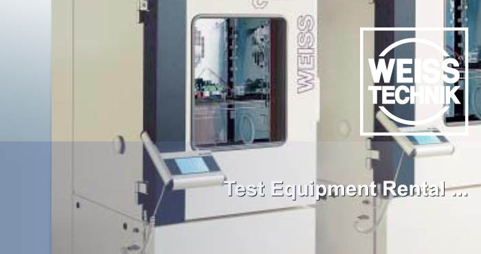 Testing equipment for rent