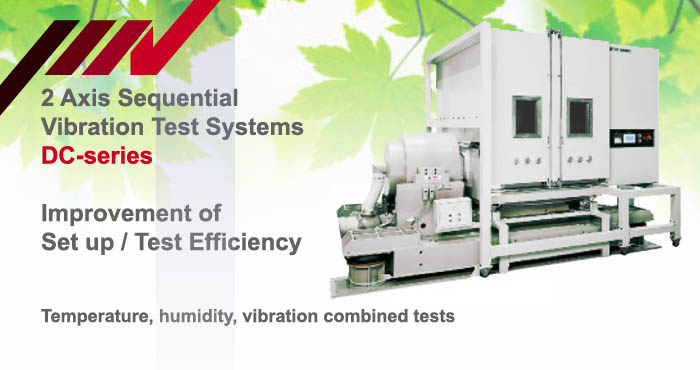 DC-series, multi-axis vibration test system